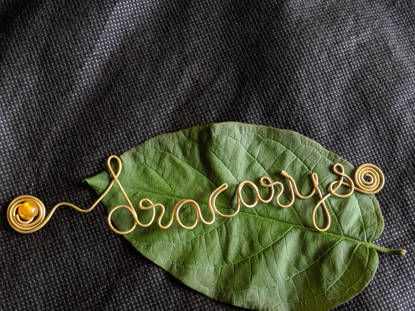 Picture of CUSTOMIZED WIRE BOOKMARK