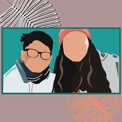 Picture of Personalised vector illustration