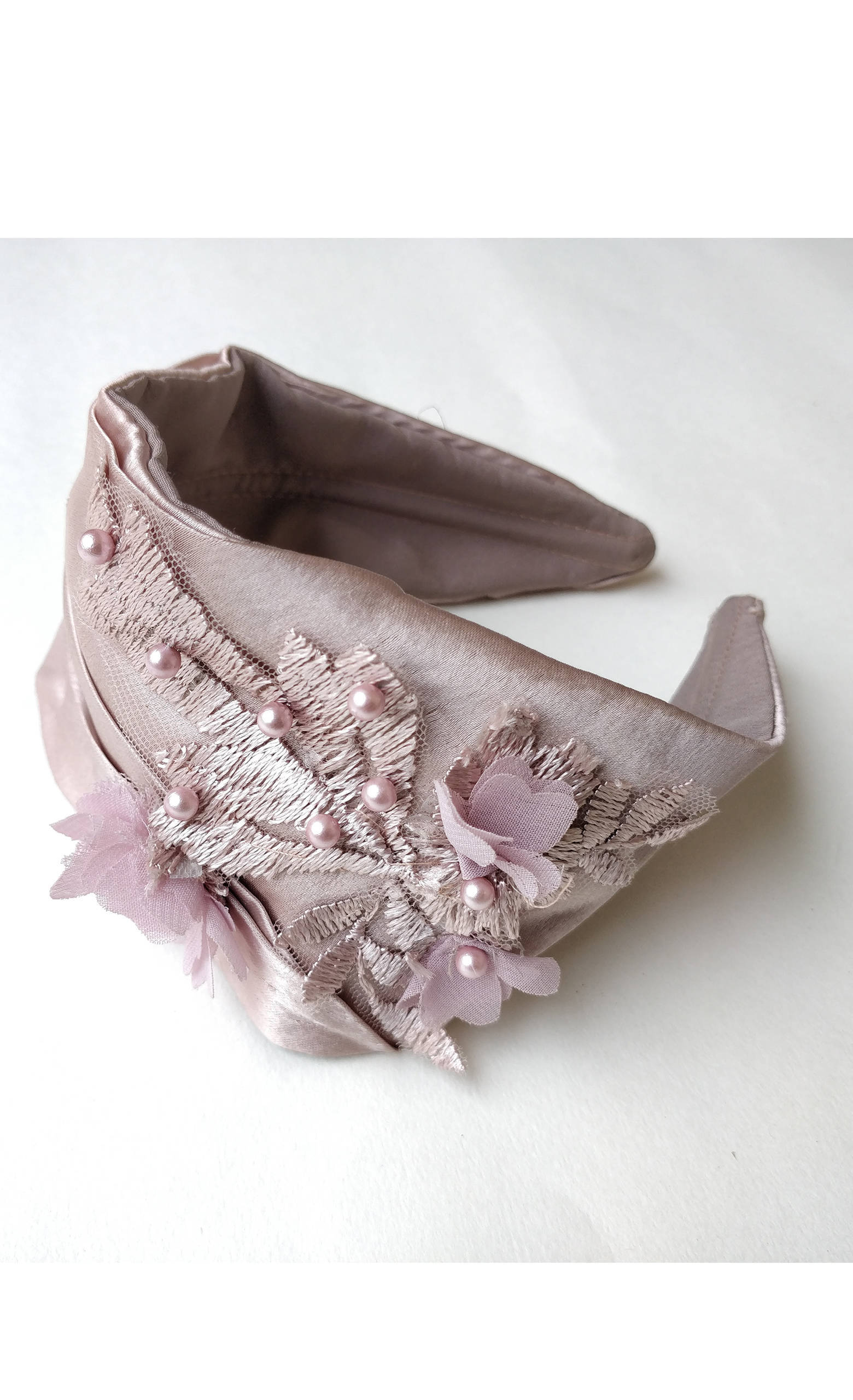 Picture of 3d Drape on Light Pink Hairband