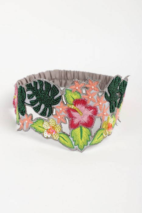 Picture of Tropical Tie round Hairband