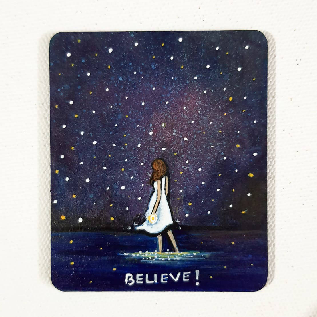 Picture of Hand painted mini canvas- Custom made
