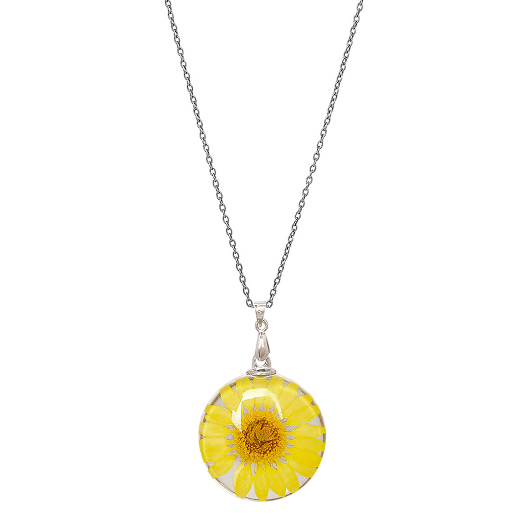 Picture of Handcrafted Yellow Daisy Pendant