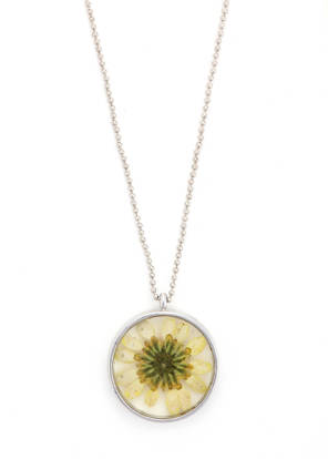 Handcrafted Yellow Daisy Pendant