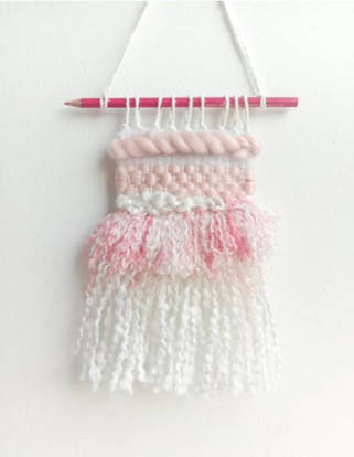 Picture of Blush Baby Wall Hanging