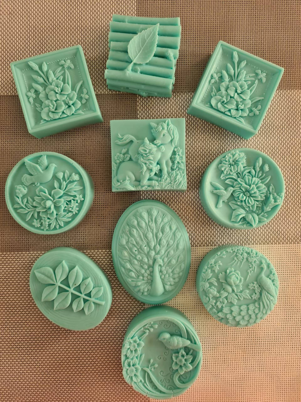 Picture of Green Clay and Egyptian Musk Soap Bars