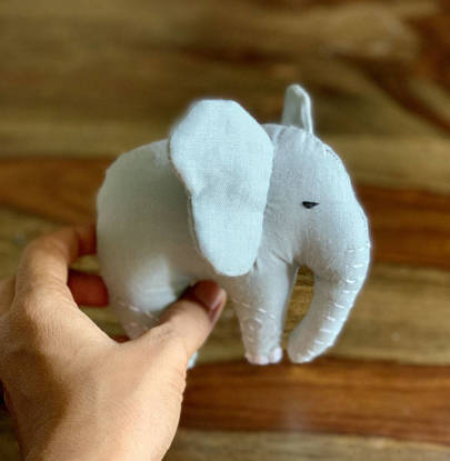 Picture of Elephant Soft Toy