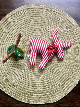 Picture of Reindeer soft toy