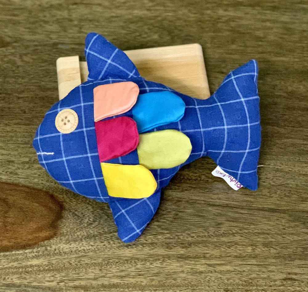 Picture of Fish with Fins Soft Toy