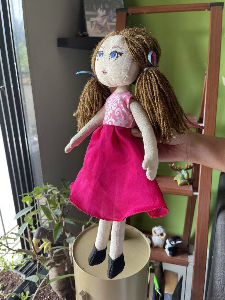 Picture of Doll Soft Toy