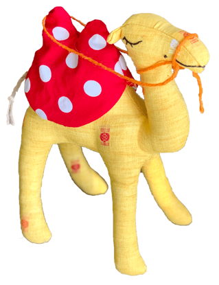 Picture of Camel Soft Toy -
