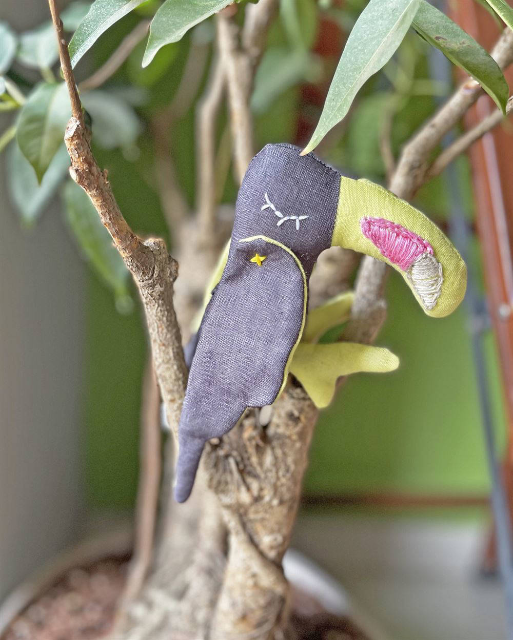 Picture of Toucan Soft Toy