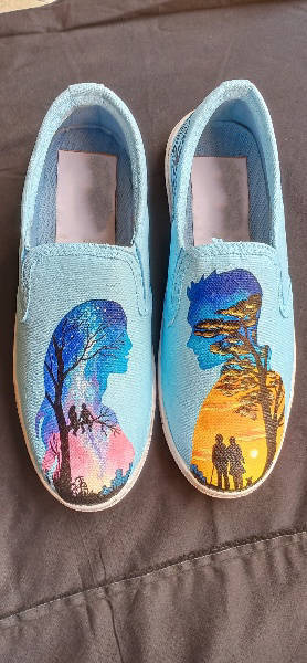 Picture of Custom Handpainted Shoes
