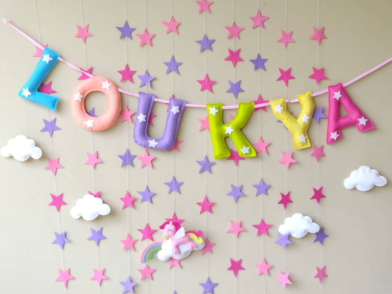 Picture of Star Name Bunting