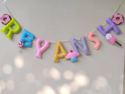 Picture of Dessert Name Bunting