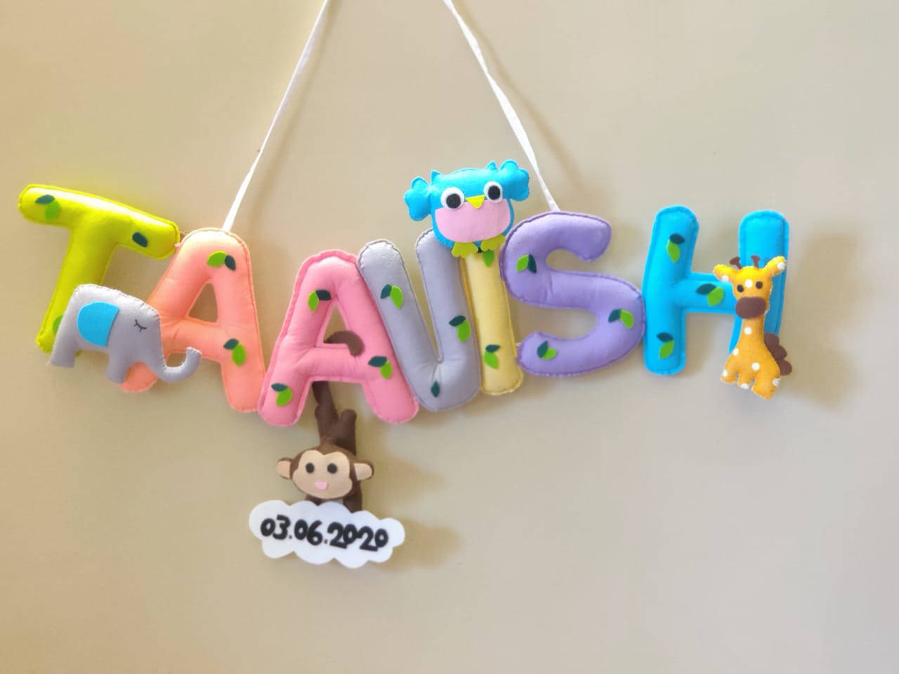 Picture of Animal Name Bunting