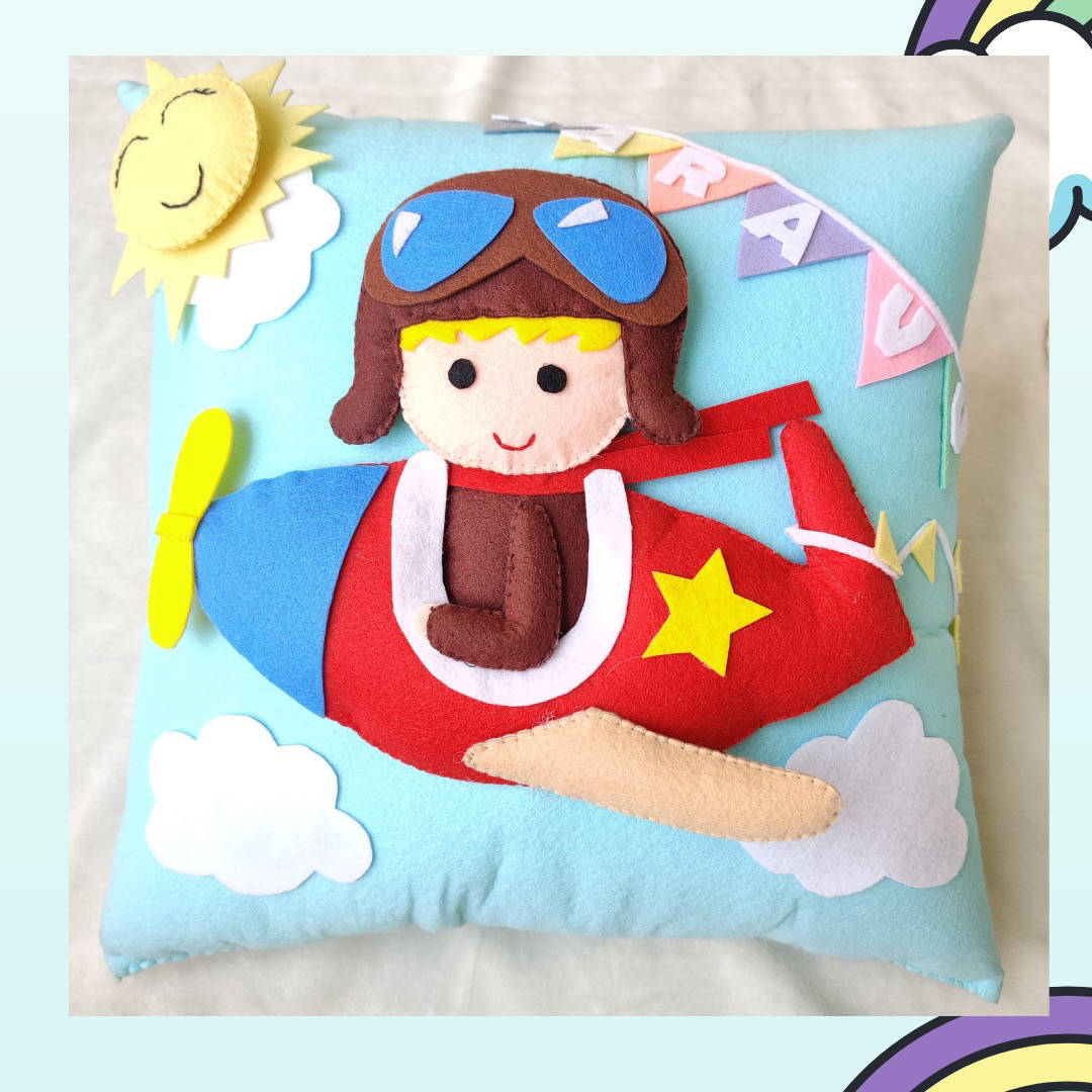 Picture of 3D  Aerplane Pillow