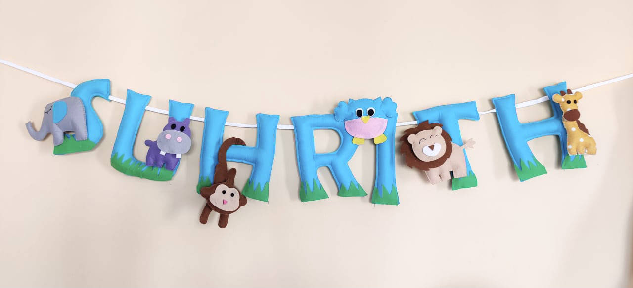 Picture of Jungle  Name Bunting