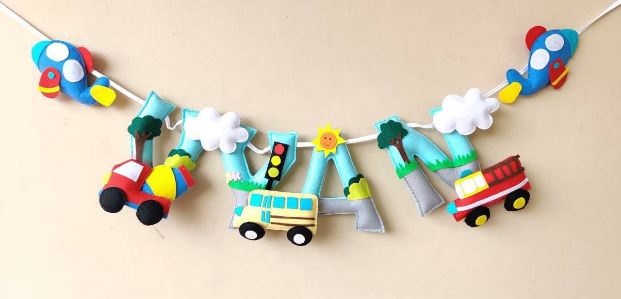 Picture of Vehicle Name Bunting