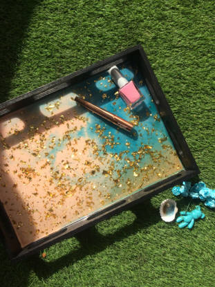 Picture of Beach Resin Serving Tray