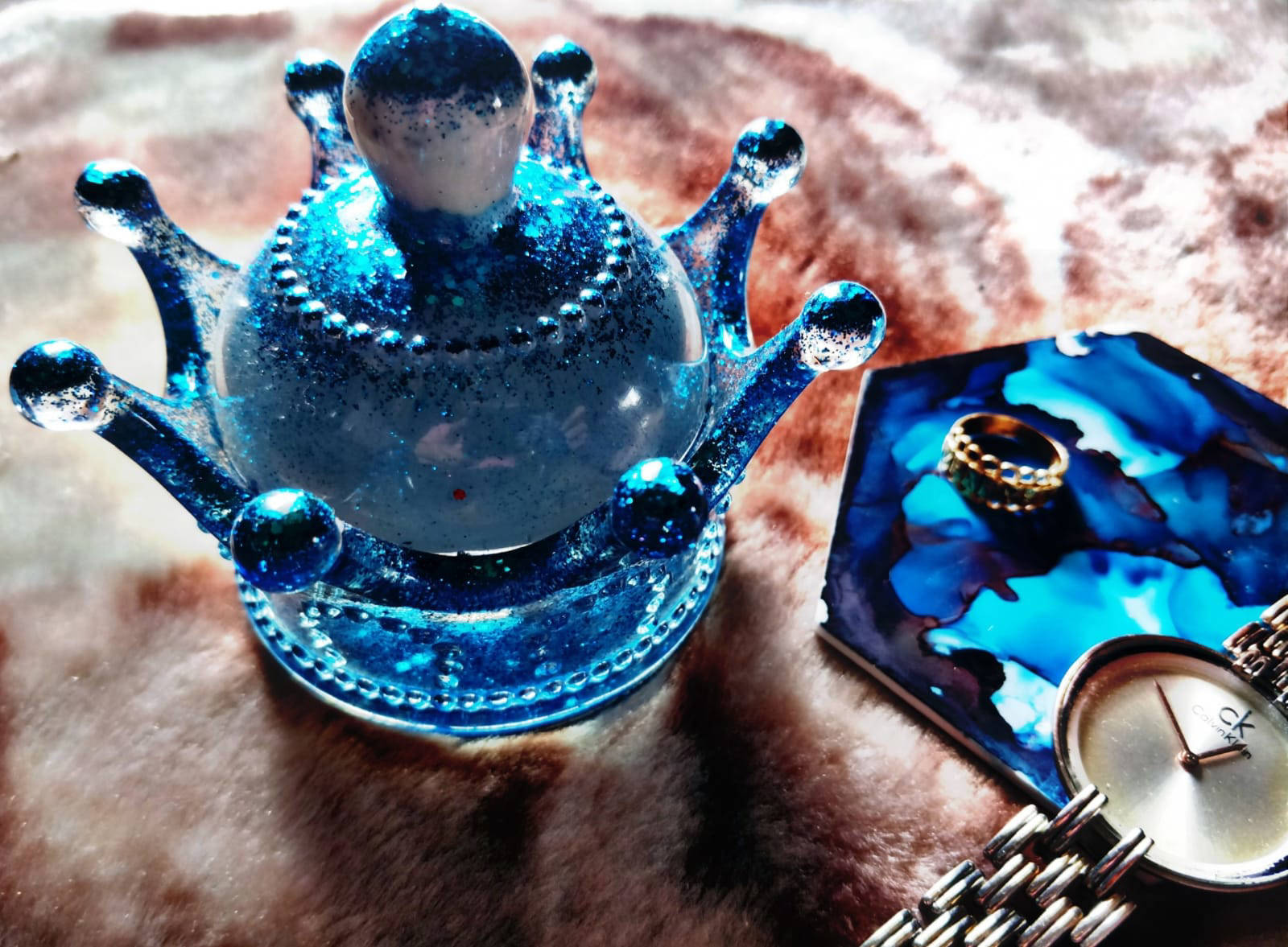 Picture of Resin Glitter Trinket Box