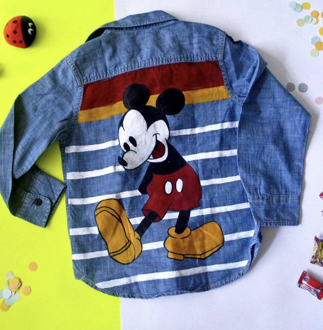 Picture of Mickey Mouse Denim Jacket