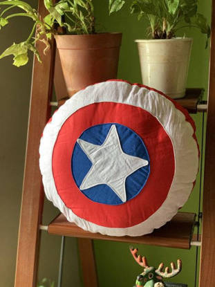Picture of Captain America Cushion