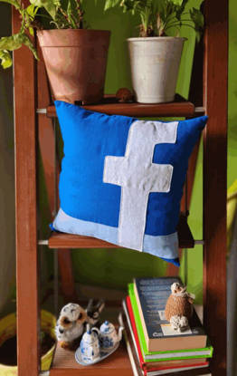Picture of Facebook  Cushion