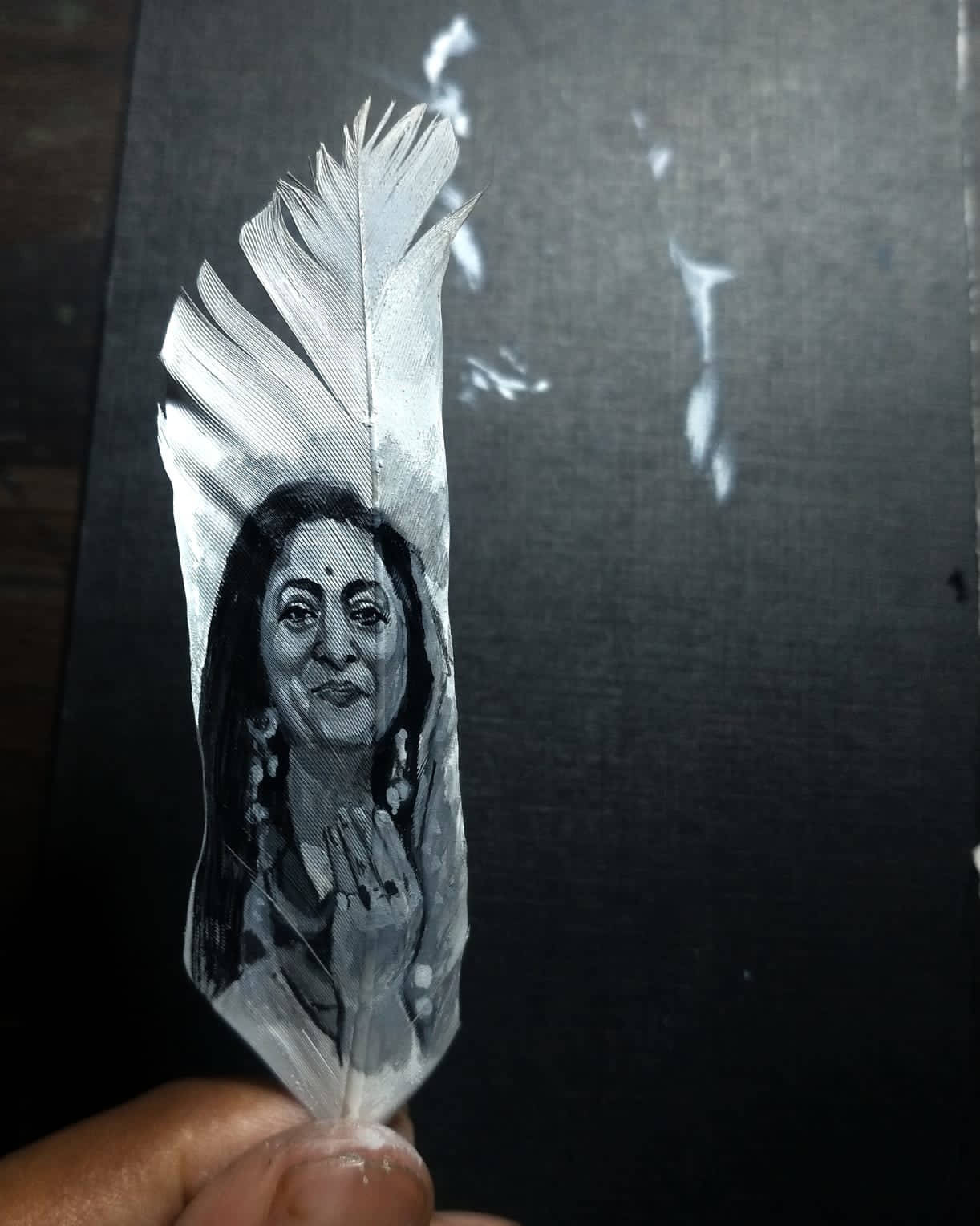 Picture of Feather Portrait