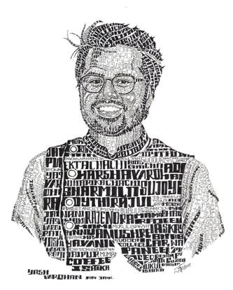 Picture of Typography Portrait