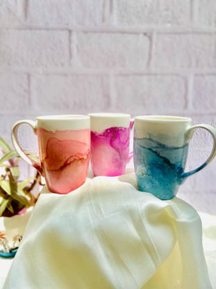 Picture of Alcohol Ink Mugs