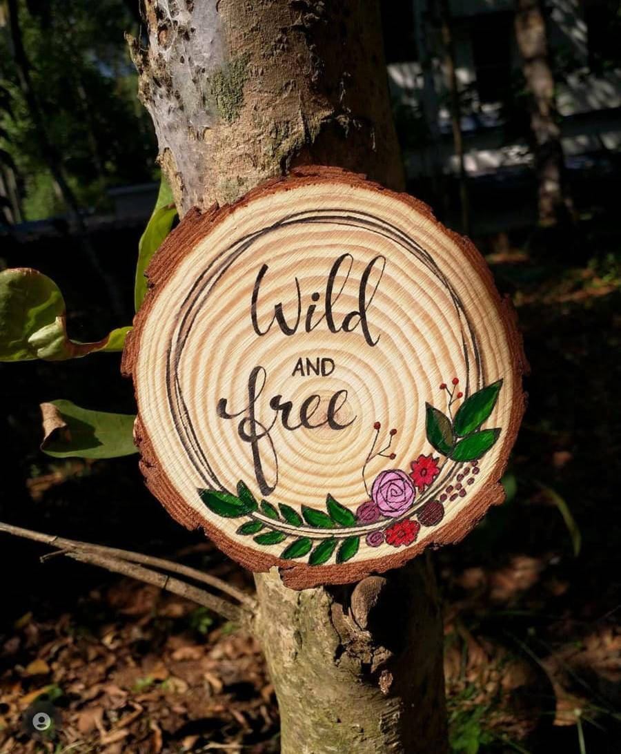 Picture of Wood Quote