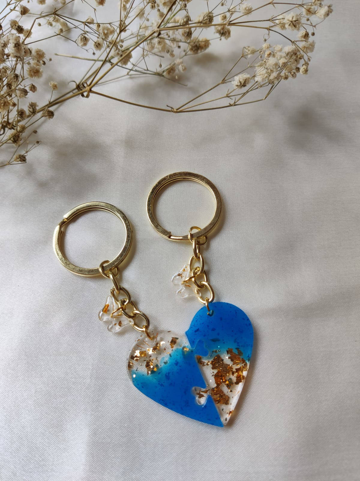 Picture of Resin Lock-here Keychain