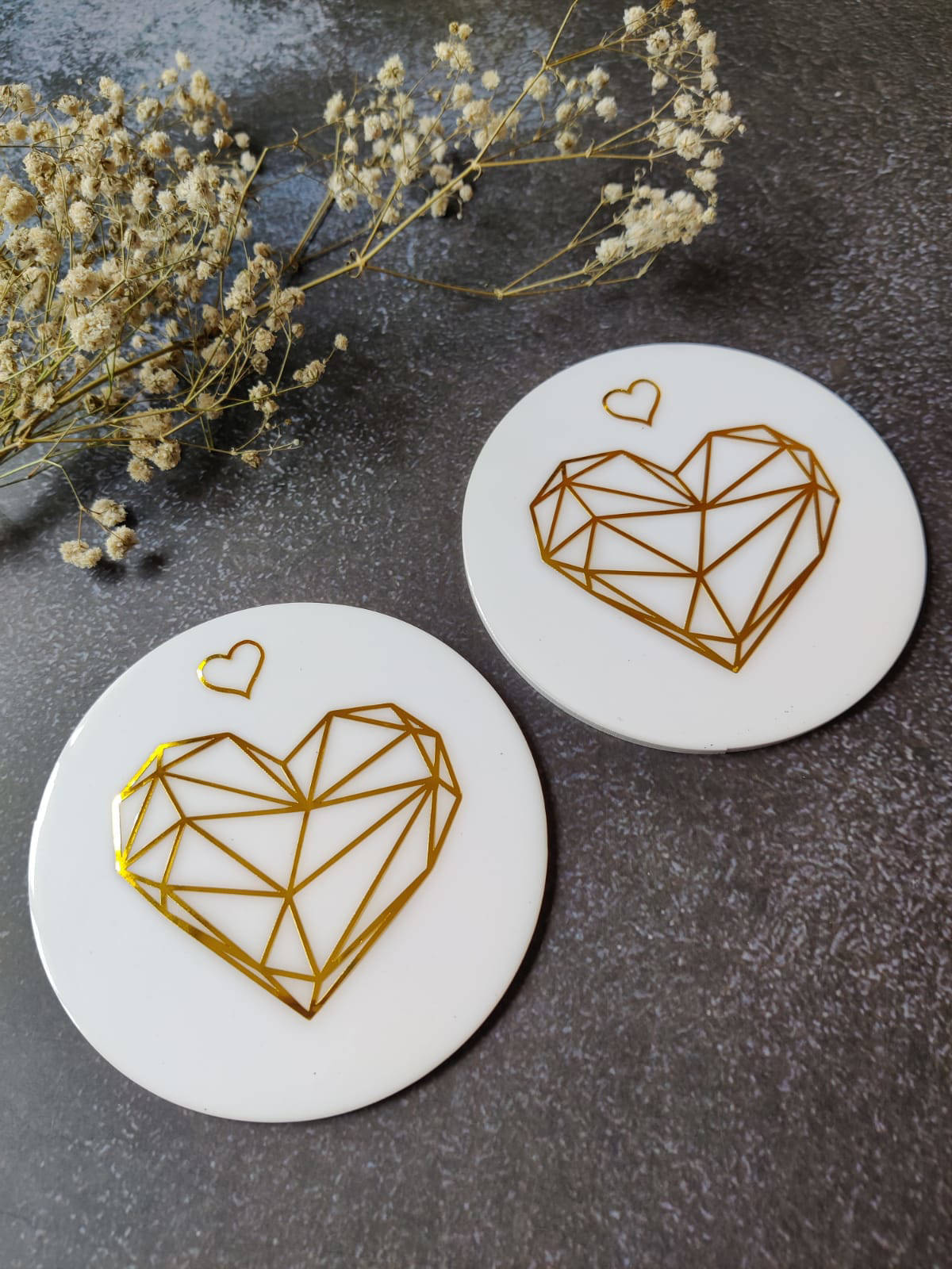 Picture of Resin coaster Set